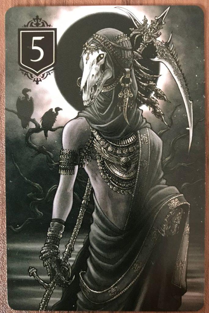 XENOの死神のカード