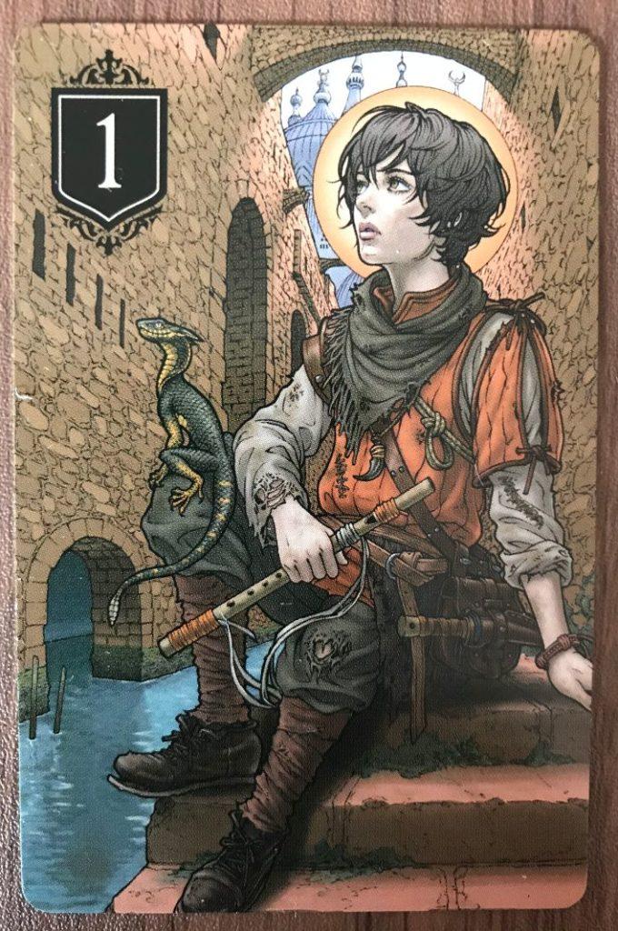 XENOの少年のカード
