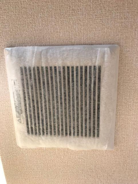 エアコンの換気扇のフィルター