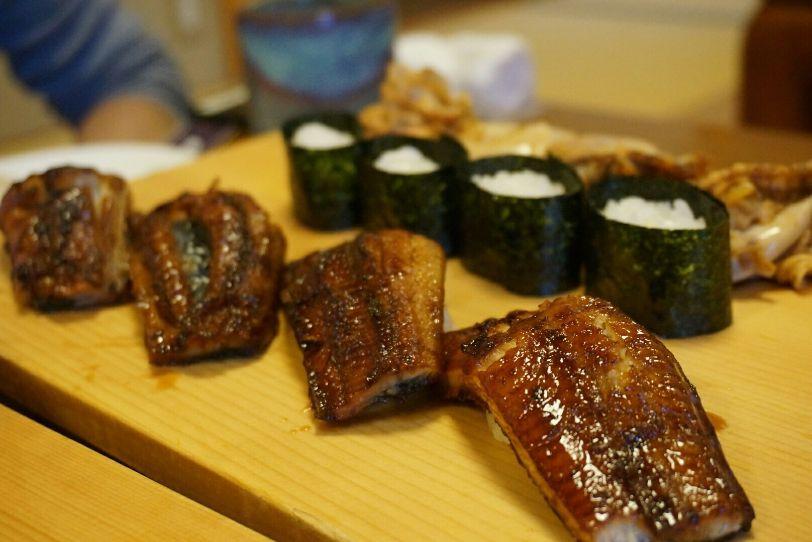 寿司処松ののうなぎ