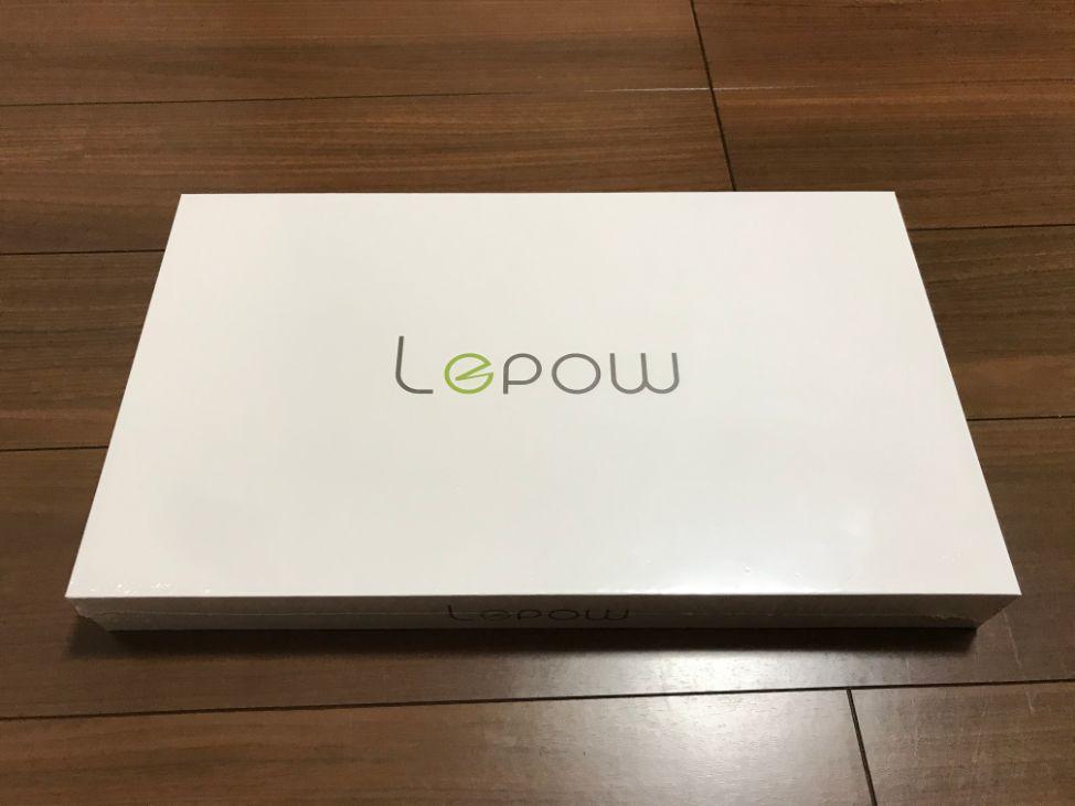 Lepowのモバイルモニター(ディスプレイ)15.6インチの外箱