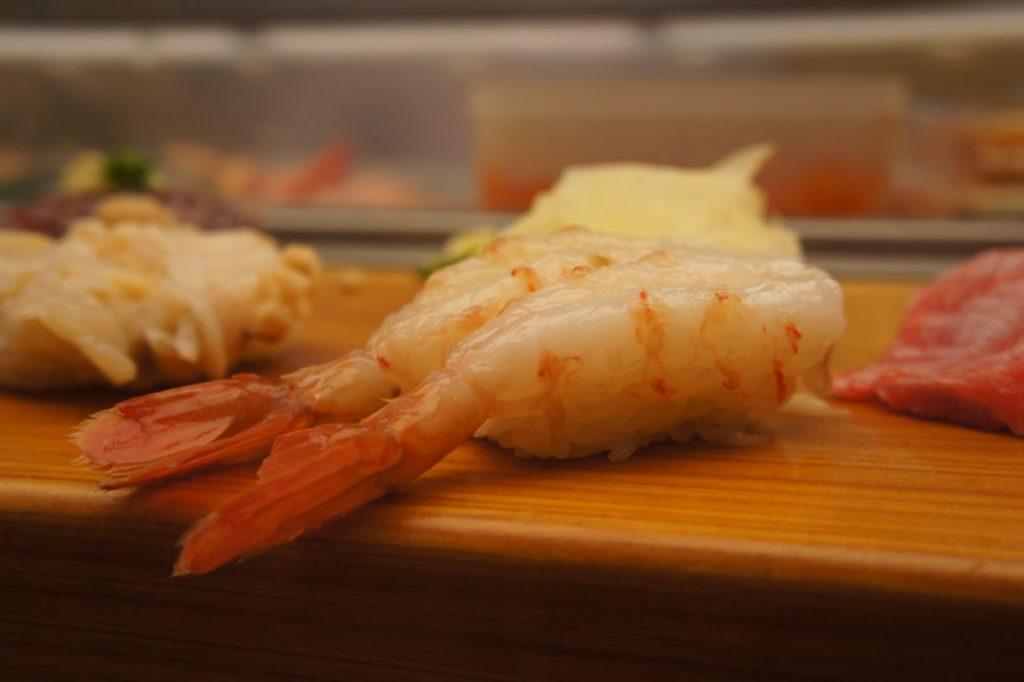 寿司処松ののボタン海老