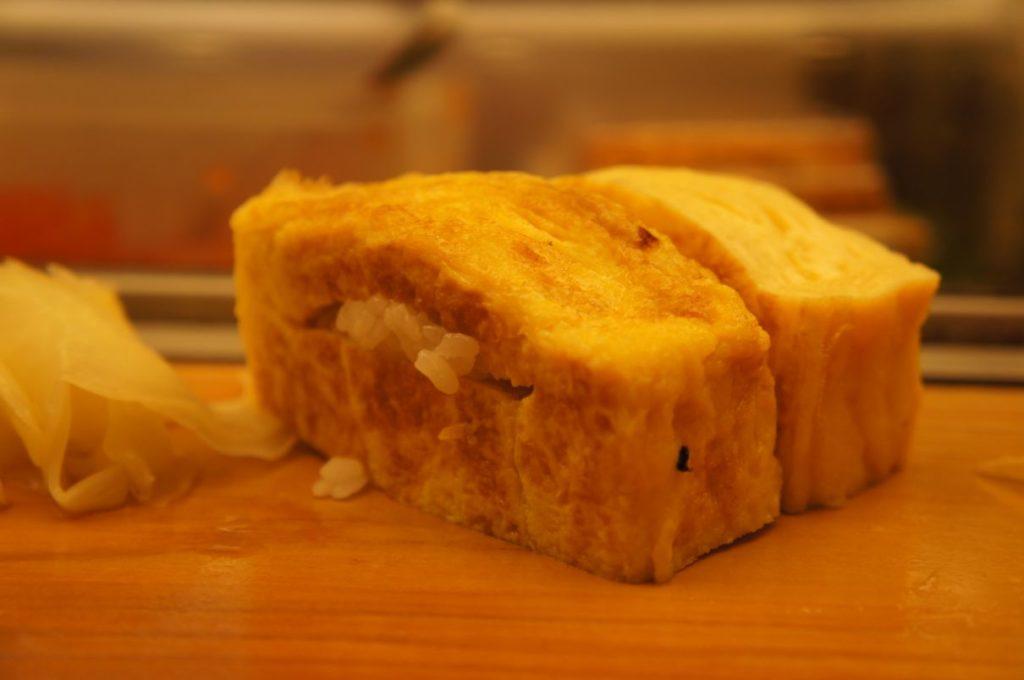 寿司処松ののたまご
