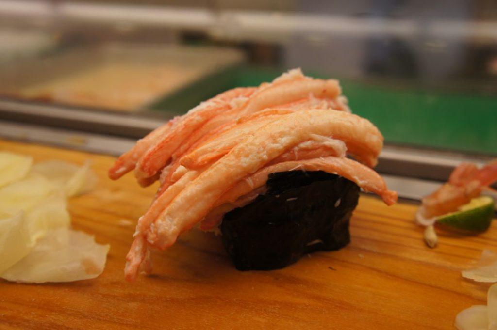 寿司処松ののカニ