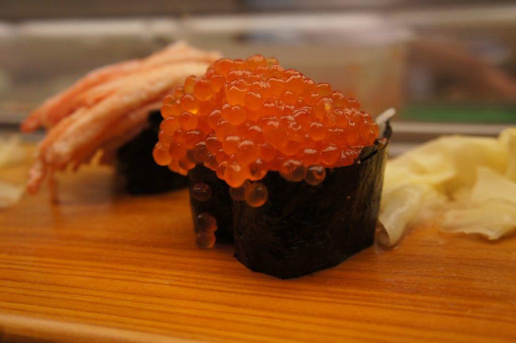 寿司処松ののいくら