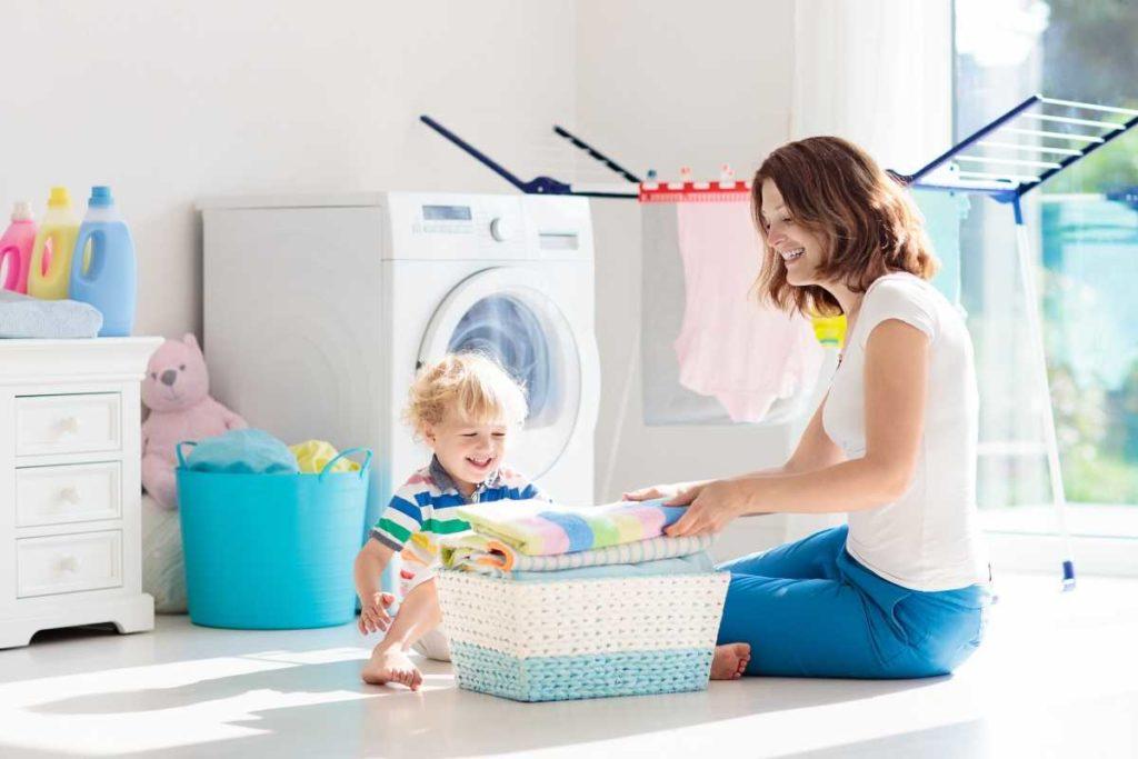ドラム式洗濯機で洗濯を楽にする