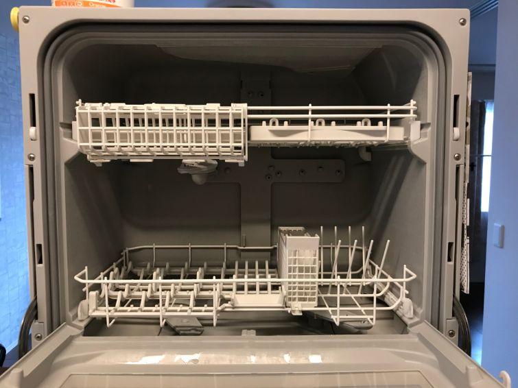 パナソニック食洗機NP-TH2の中