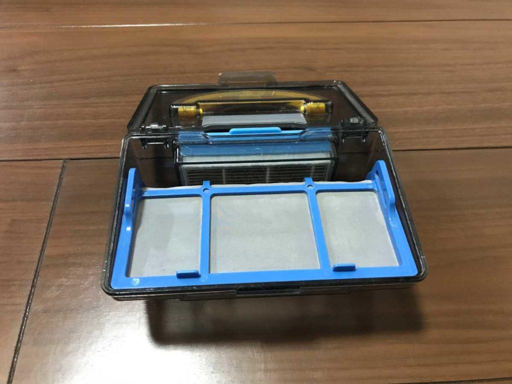 ロボット掃除機ILIFE(アイライフ)V3s Proのダストボックス
