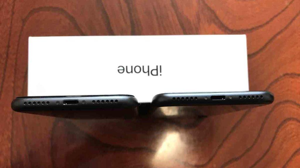 iPhone 7とiPhone SE(第2世代)の外観デザイン比較
