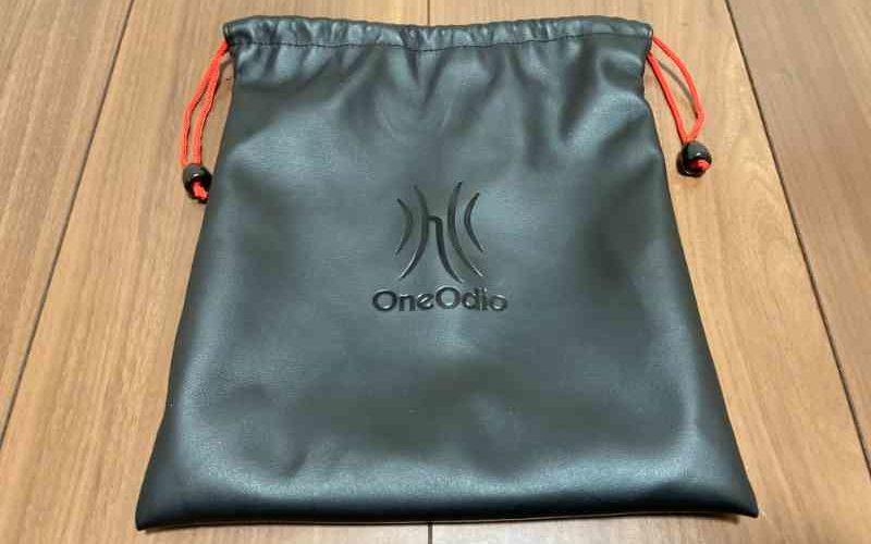 OneOdio Pro50の持ち運び用ポーチ