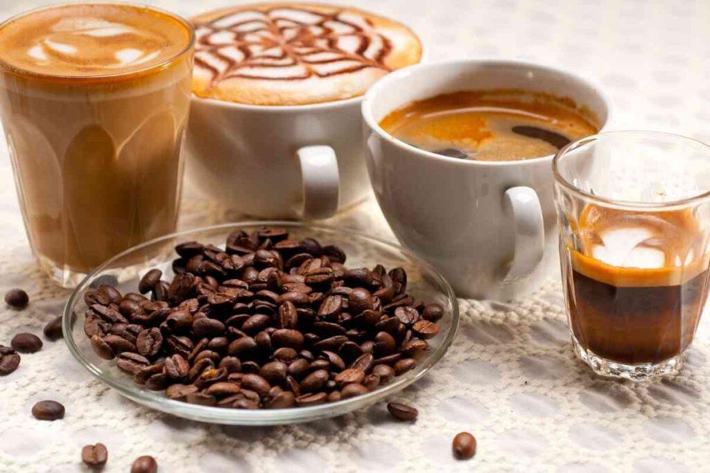種類別!カフェイン含有量の一覧
